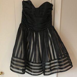 Beautiful Black & Cream Dress